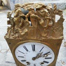 Relojes de pared: ANTIGUO RELOJ DE PARED. NO TIENE LAS PESAS.. Lote 261916795