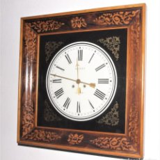 Relojes de pared: RELOJ FRANCÉS DE ESTILO CHARLES X DE HACIA 1.830. Lote 262087110