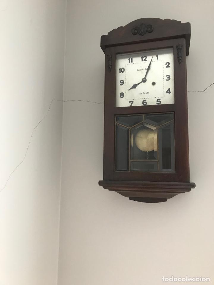 Relojes de pared: Reloj pared de cuerda - Foto 2 - 262233880
