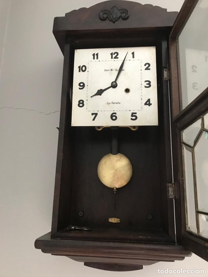 RELOJ PARED DE CUERDA (Relojes - Pared Carga Manual)