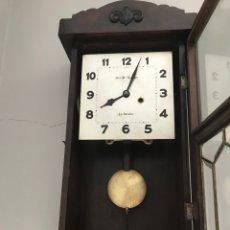 Relojes de pared: RELOJ PARED DE CUERDA. Lote 262233880