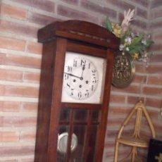 Relojes de pared: ¡¡¡GRAN OFERTA!!!ANTIGUO RELOJ WESTMINSTER JUNGHANS-ART-DECO-AÑO 1920-FUNCIONA. Lote 262239810