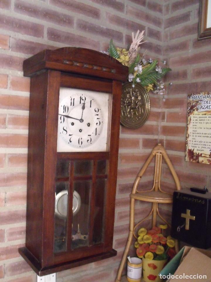 Relojes de pared: ¡¡¡GRAN OFERTA!!!ANTIGUO RELOJ WESTMINSTER JUNGHANS-ART-DECO-AÑO 1920-FUNCIONA - Foto 2 - 262239810