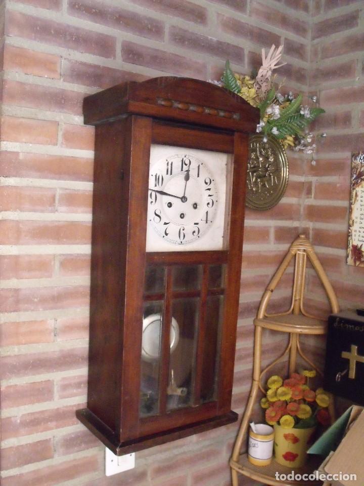 Relojes de pared: ¡¡¡GRAN OFERTA!!!ANTIGUO RELOJ WESTMINSTER JUNGHANS-ART-DECO-AÑO 1920-FUNCIONA - Foto 5 - 262239810