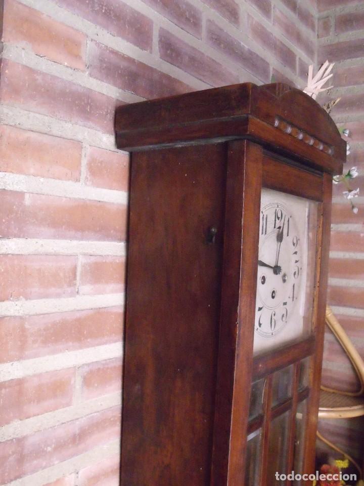 Relojes de pared: ¡¡¡GRAN OFERTA!!!ANTIGUO RELOJ WESTMINSTER JUNGHANS-ART-DECO-AÑO 1920-FUNCIONA - Foto 6 - 262239810