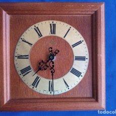 Relojes de pared: RELOJ DE PARED, FABRICADO EN MADERA VINTAGE MEISTER- ANKER, FABRICADO EN ALEMANIA.. Lote 262284935