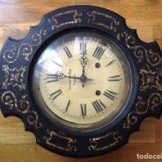 Relojes de pared: RELOJ PARED. PAMPLONA. S XIX. Lote 263093595