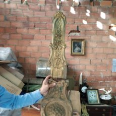 Relojes de pared: ANTIGUO PENDULO REAL PARA RESTAURAR. Lote 264718139