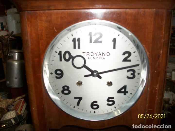 Relojes de pared: LOTE DE 2 RELOJES DE PARED-TROYANO-ALMERIA - Foto 2 - 265321394