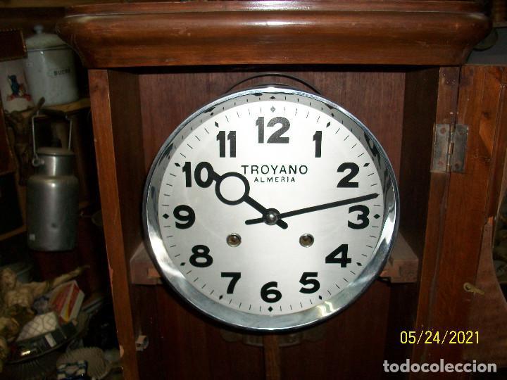 Relojes de pared: LOTE DE 2 RELOJES DE PARED-TROYANO-ALMERIA - Foto 4 - 265321394