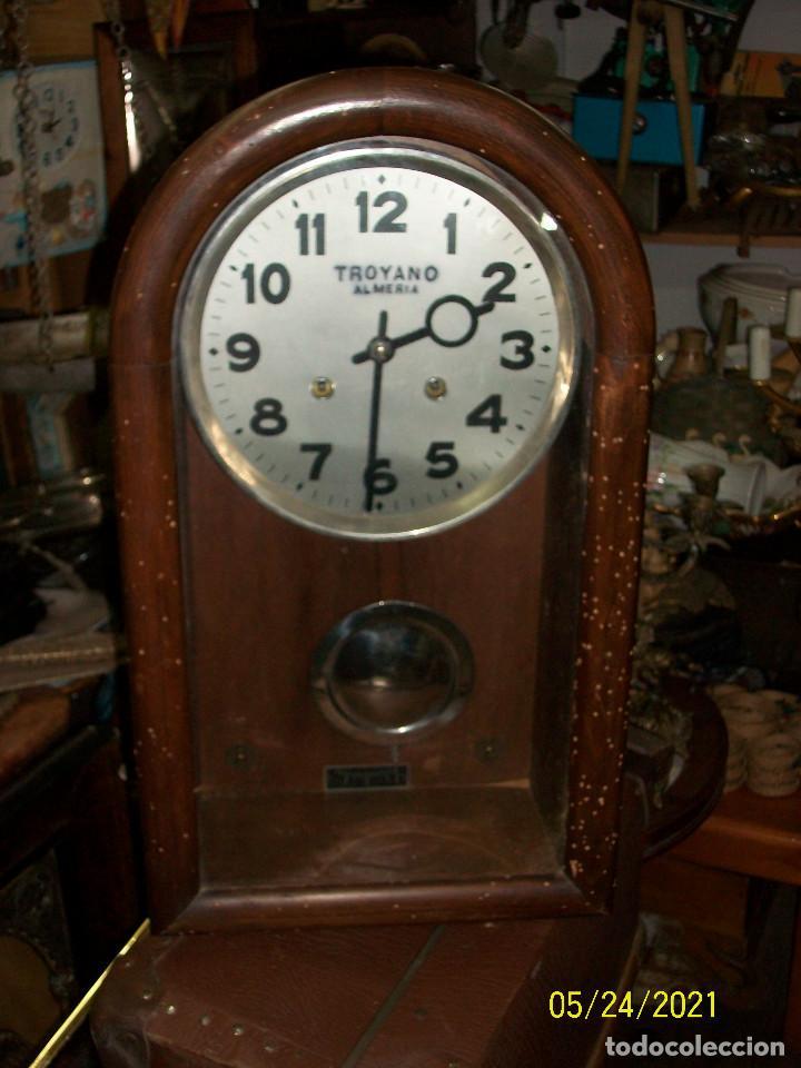 Relojes de pared: LOTE DE 2 RELOJES DE PARED-TROYANO-ALMERIA - Foto 8 - 265321394