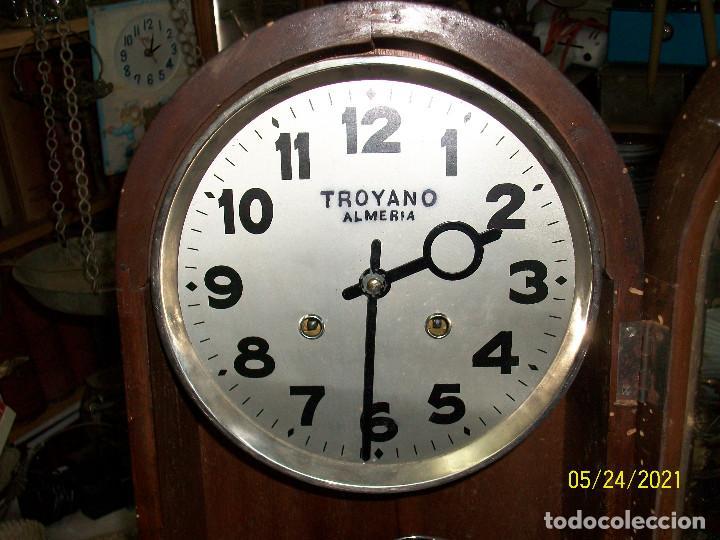 Relojes de pared: LOTE DE 2 RELOJES DE PARED-TROYANO-ALMERIA - Foto 9 - 265321394