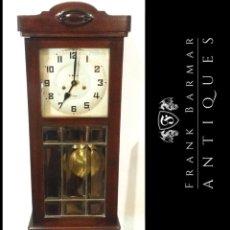 Relojes de pared: PRECIOSO RELOJ DE PARED VINTAGE - RELOJ DE PÉNDULO A. MARTIN (TOLEDO) - FUNCIONANDO - ENVÍO GRATIS. Lote 265999333