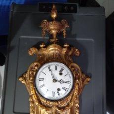 Orologi da parete: RELOJ PARED BRONCE MACIZO. Lote 267124474