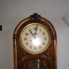 Relojes de pared: RELOJ DE PARED ANTIGUO. Lote 267189444