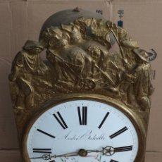 Horloges murales: RELOJ MOREZ ANTIGUO. Lote 267259239