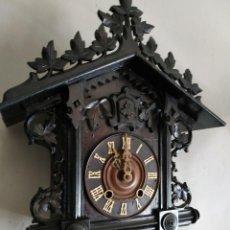 Horloges murales: RELOJ DE CUCU CUCO ANTIGUO SELVA NEGRA. Lote 267339984