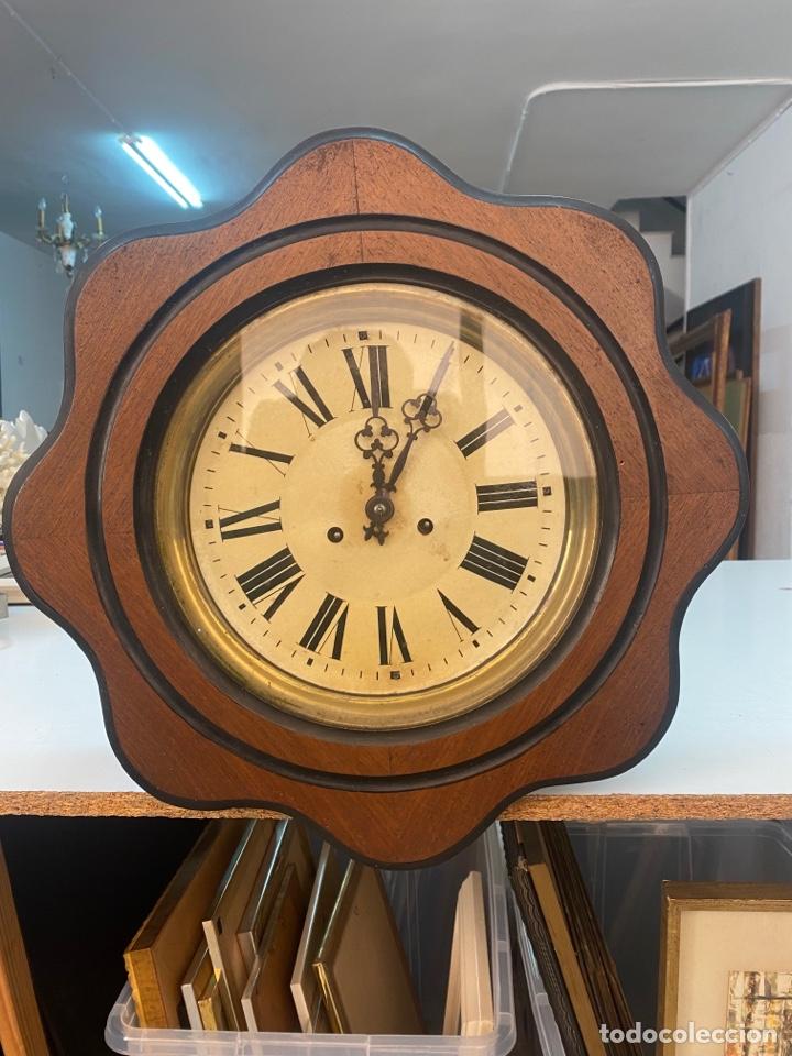 Relojes de pared: RELOJ DE PARED ANTIGUO ojo dé buey - Foto 2 - 267768829