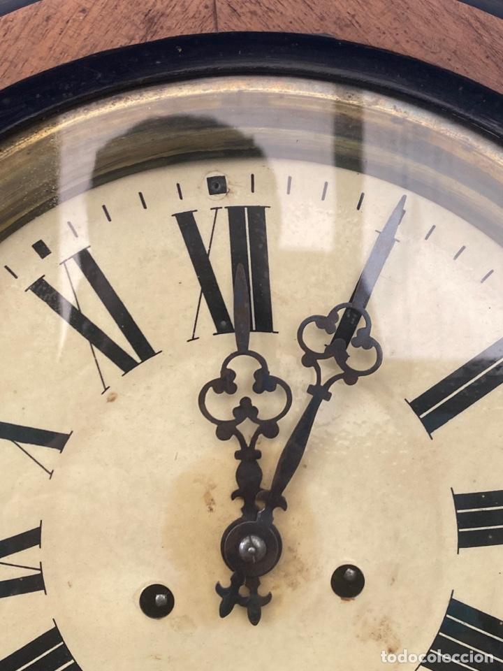Relojes de pared: RELOJ DE PARED ANTIGUO ojo dé buey - Foto 3 - 267768829