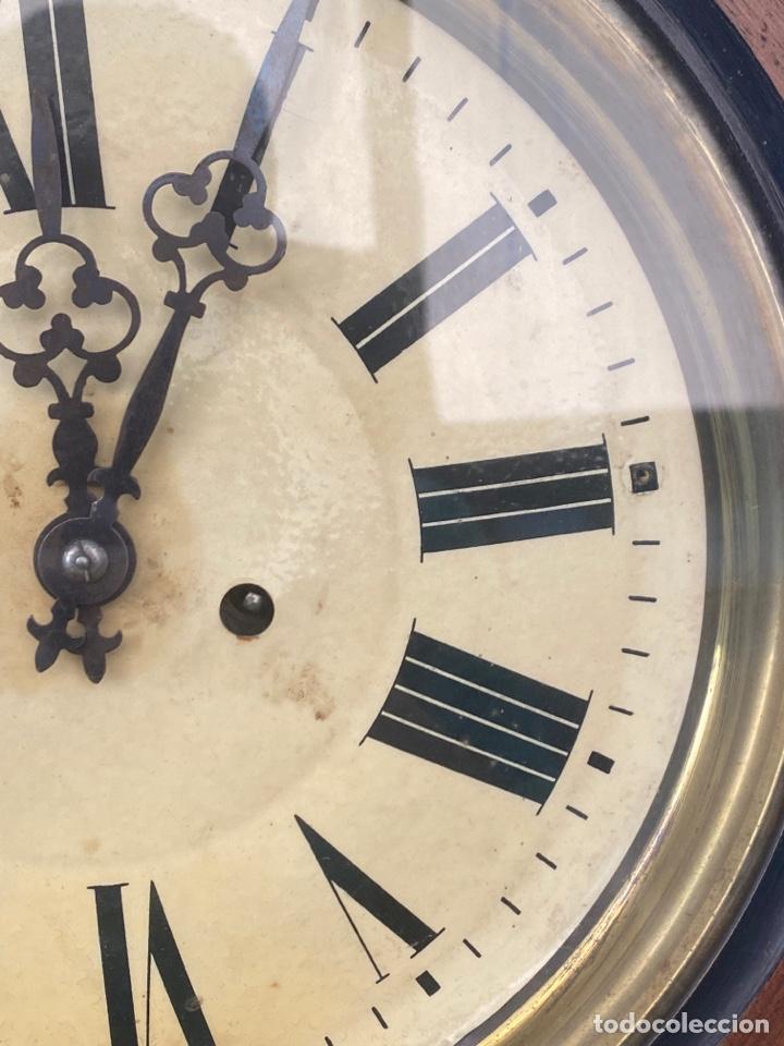 Relojes de pared: RELOJ DE PARED ANTIGUO ojo dé buey - Foto 4 - 267768829
