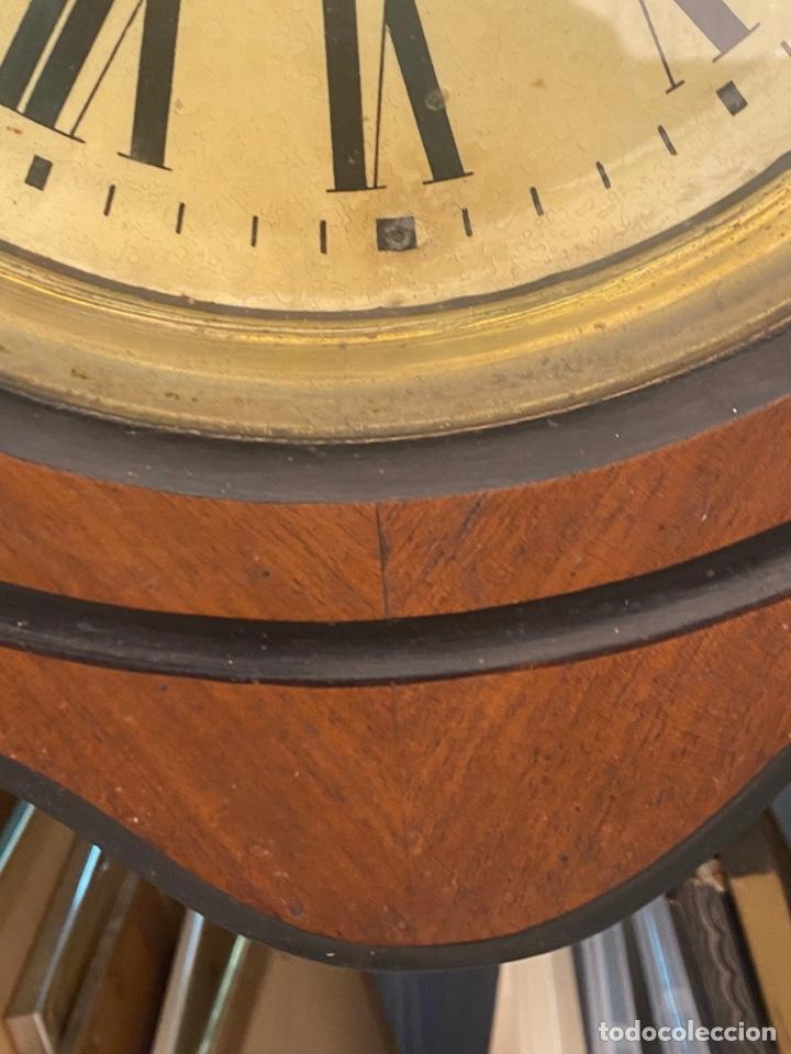 Relojes de pared: RELOJ DE PARED ANTIGUO ojo dé buey - Foto 6 - 267768829