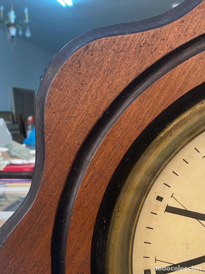 Relojes de pared: RELOJ DE PARED ANTIGUO ojo dé buey - Foto 7 - 267768829