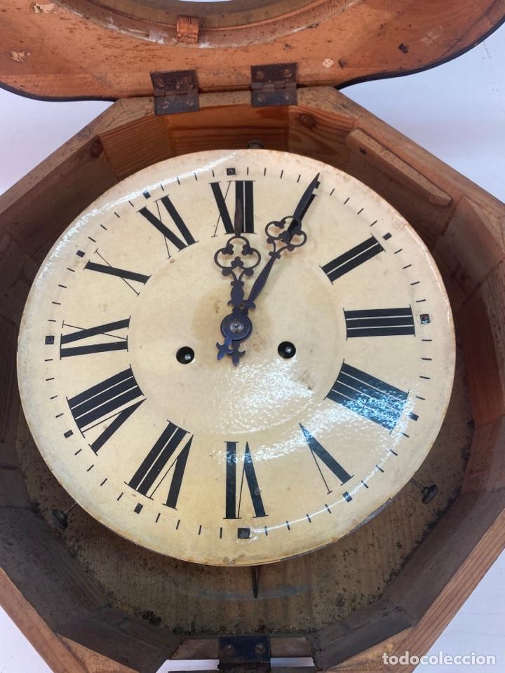 Relojes de pared: RELOJ DE PARED ANTIGUO ojo dé buey - Foto 13 - 267768829