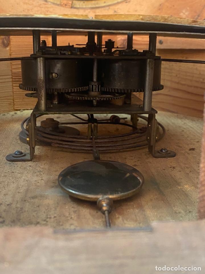 Relojes de pared: RELOJ DE PARED ANTIGUO ojo dé buey - Foto 14 - 267768829