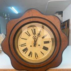 Relojes de pared: RELOJ DE PARED ANTIGUO OJO DÉ BUEY. Lote 267768829