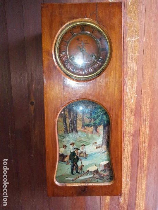 RELOJ - BOHEMIA - R. CHECA . (Relojes - Pared Carga Manual)