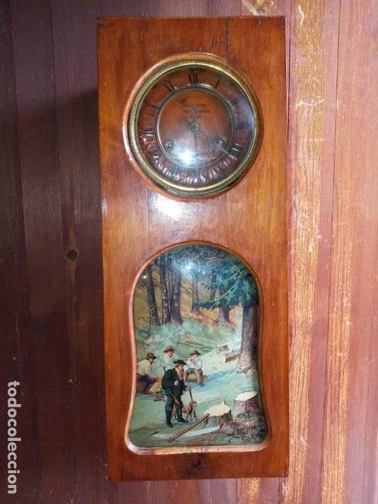 Relojes de pared: RELOJ - BOHEMIA - R. CHECA . - Foto 4 - 268262389