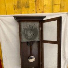 Relojes de pared: ANTIGUO Y GRAN RELOJ DE PARED AMERICANO!. Lote 268920579