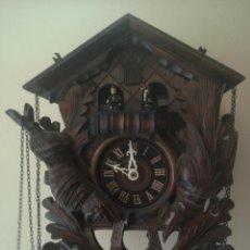 Relojes de pared: RELOJ CUCO SELVA NEGRA ALEMAN CON CARRUSEL. Lote 269315738