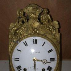 "Relojes de pared: OLD COMTOISE MOVEMENT ""GUERRAND"" RINGTONE: BELL. Lote 269630028"