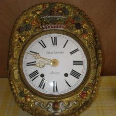 "Relojes de pared: OLD COMTOISE MOVEMENT ""GEAIS LANORE"" RINGTONE: GONG. Lote 269630893"