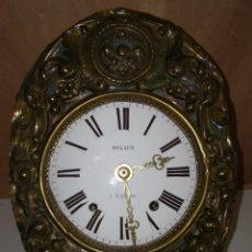 "Relojes de pared: OLD COMTOISE MOVEMENT ""MOLARD"" RINGTONE: BELL. Lote 269631133"
