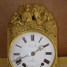 """Relojes de pared: OLD COMTOISE MOVEMENT """"TESTÉ"""" RINGTONE: BELL. Lote 269631528"""
