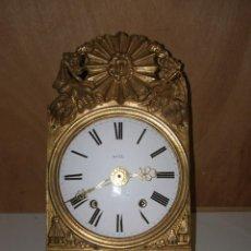"Relojes de pared: OLD COMTOISE MOVEMENT ""OVEL"" RINGTONE: BELL. Lote 269631828"