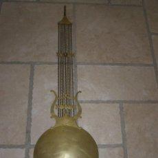 Relojes de pared: OLD BALANCE WHEEL DIAMETER 27CM FOR COMTOISE MOVEMENT. Lote 269635168