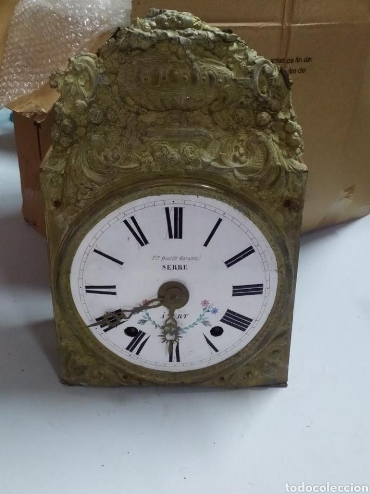 ANTIGUA CABEZA DE RELOJ MOREZ DE CAMPANA (Relojes - Pared Carga Manual)