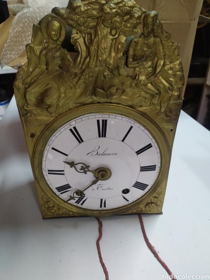 ANTIGUA CABEZA RELOJ MOREZ DE CAMPANA (Relojes - Pared Carga Manual)