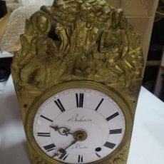 Relojes de pared: ANTIGUA CABEZA RELOJ MOREZ DE CAMPANA. Lote 269674873
