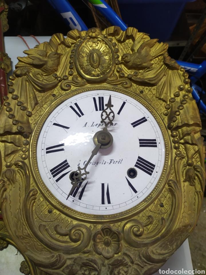 ANTIGUA CABEZA RELOJ MOREZ DE BORDÓN (Relojes - Pared Carga Manual)
