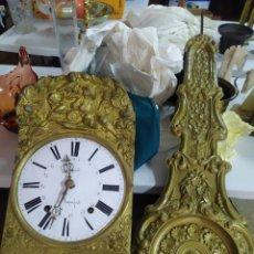 Relojes de pared: ANTIGUO RELOJ MOREZ DE CAMPANA PENDULO REAL SIGLO XIX. Lote 269677528