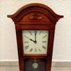 Relojes de pared: RELOJ DE PÉNDULO. Lote 269728988