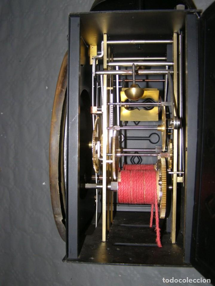 Relojes de pared: Ancien mouvement de comtoise + balancier lyre D 27cm + 2 poids + clé - Foto 6 - 270099813