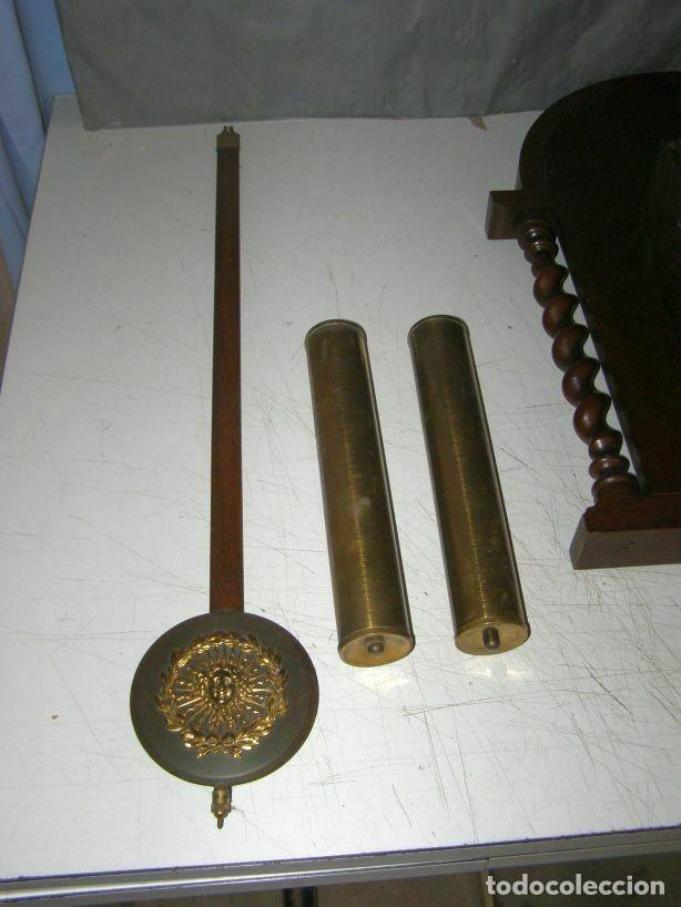 Relojes de pared: Ancien mouvement de comtoise (XIXè) avec balancier et 2 poids - Foto 5 - 270102313