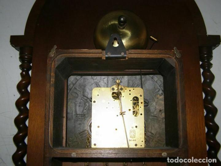 Relojes de pared: Ancien mouvement de comtoise (XIXè) avec balancier et 2 poids - Foto 6 - 270102313