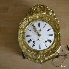 Orologi da parete: ANTIGUA MAQUINARIA MOREZ-CALENDARIO-AÑO 1880-FUNCIONA. Lote 270916988