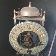 Relojes de pared: ANTIGUO RELOJ DE PENDULO TEMPUS FUGIT. Lote 271593508